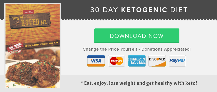 30 Day Ketogenic Diet Plan Ruled Me