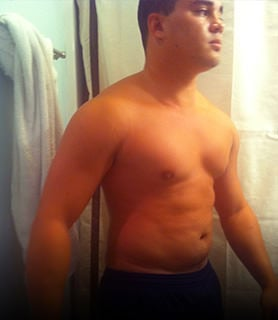 how to estimate body fat percentage visually