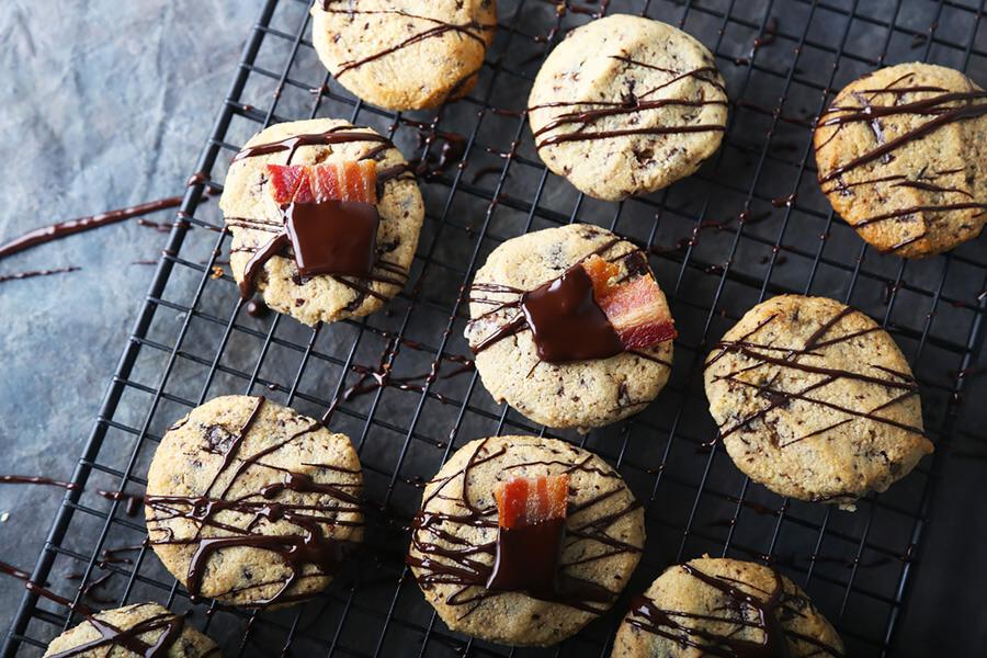 Baconscotch Chocolate Chunk Cookies