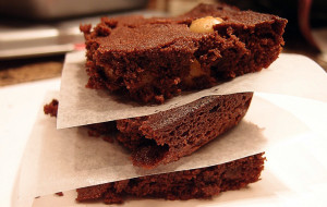 Low Carb Macadamia Nut Brownies