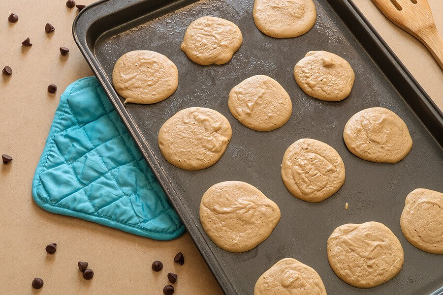 LC Peanut Butter Meringue Cookies