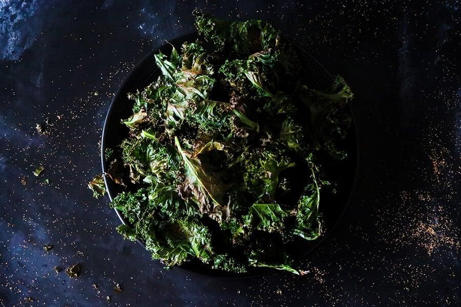 Crispy & Delicious Kale Chips
