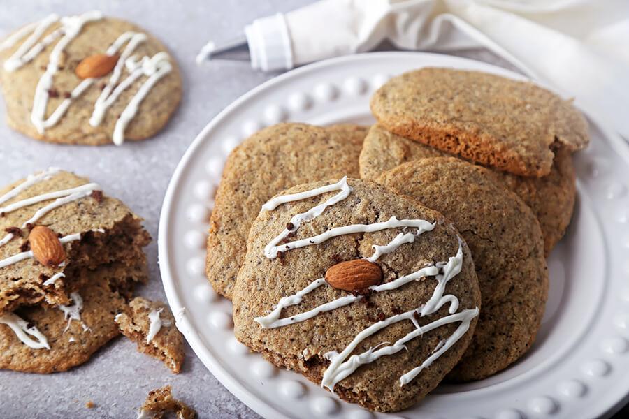 Low Carb Vanilla Latte Cookies