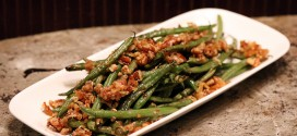 Roasted Pecan Green Beans