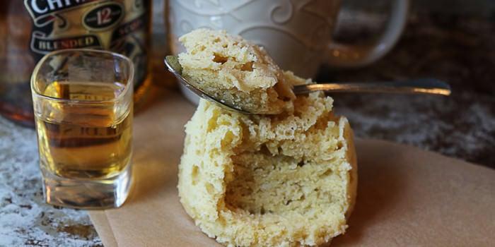 Vanilla Whisky Keto Mug Cake