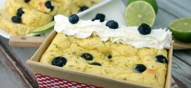 Blueberry Lime July 4th Cake