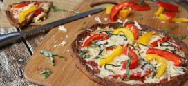 Fresh Bell Pepper Basil Pizza