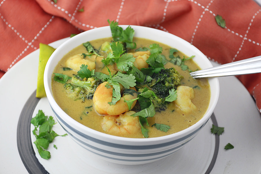 GreenCoconutShrimpCurry
