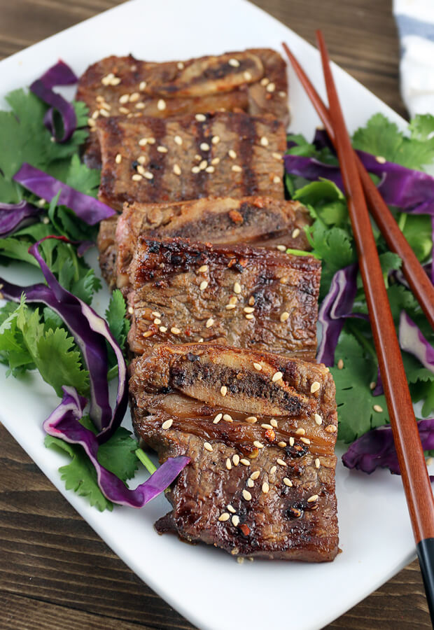 Asian Grilled Keto Short Ribs | Ruled Me