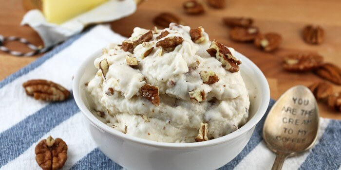 Brown Butter Pecan Keto Ice Cream