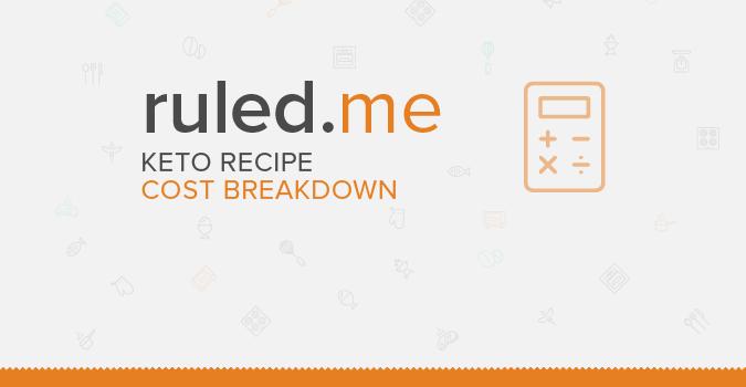 Keto Diet: Cost Breakdowns of Popular Recipes
