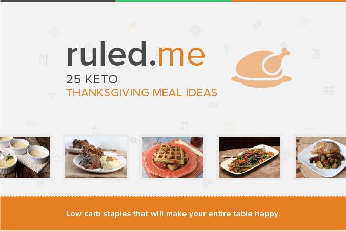 25 Keto Thanksgiving Meal Ideas