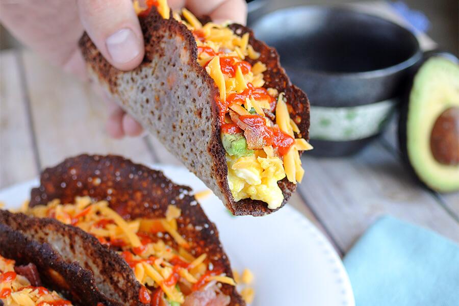 Keto Breakfast Taco
