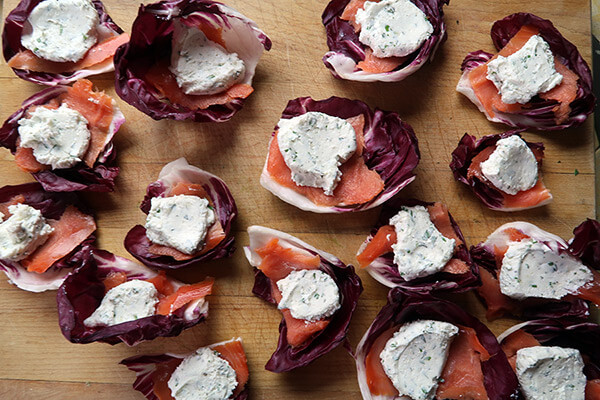 Smoked Salmon and Goat Cheese Bites | Ruled Me