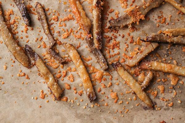 Smothered Portobello Mushroom Fries