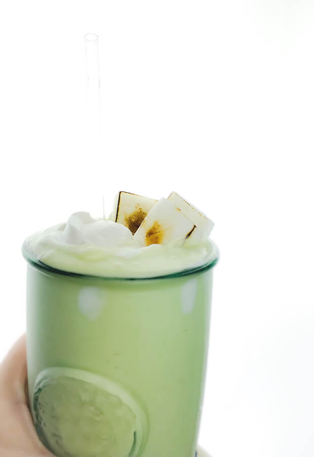Fat Boost Smoothie with Coconut Chantilly Cream