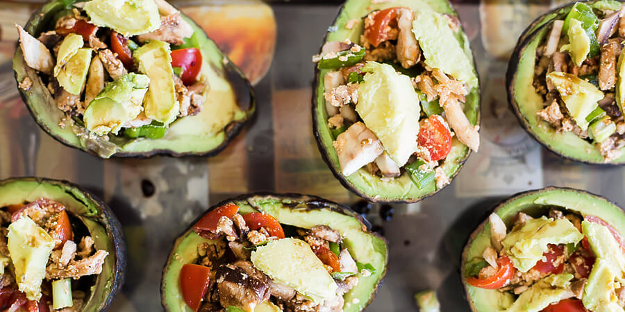 Balsamic Avocado Bowls
