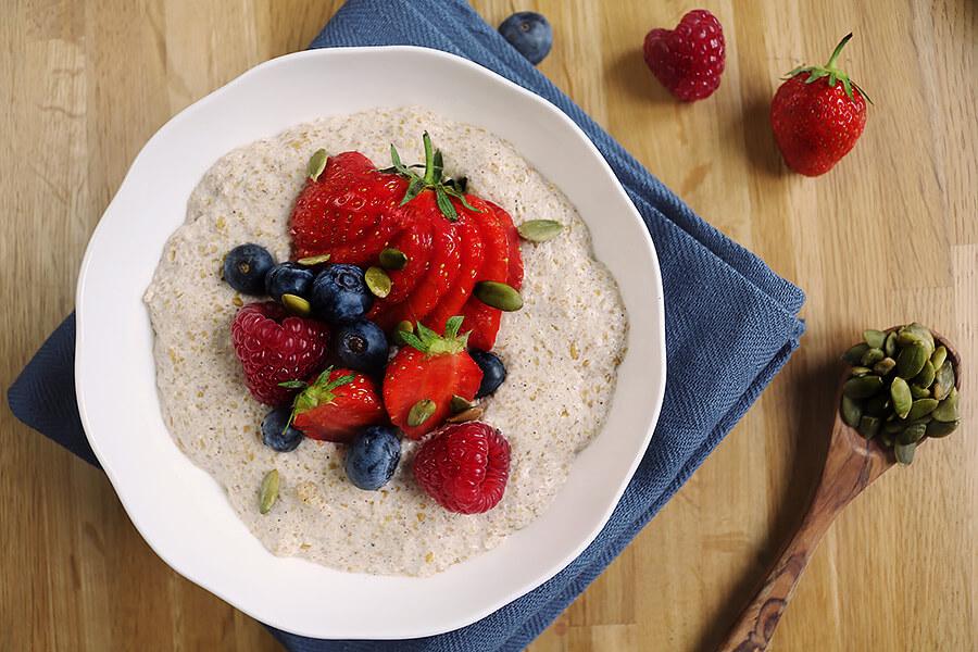 Berry Coconut Oatmeal