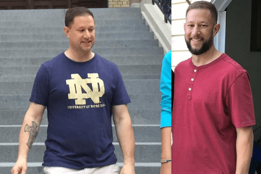 Brad Lost 40 Lbs and Reduced Inflammation