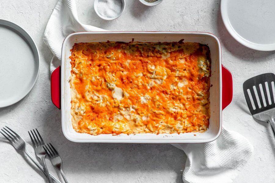 Keto Creamy Cabbage Casserole